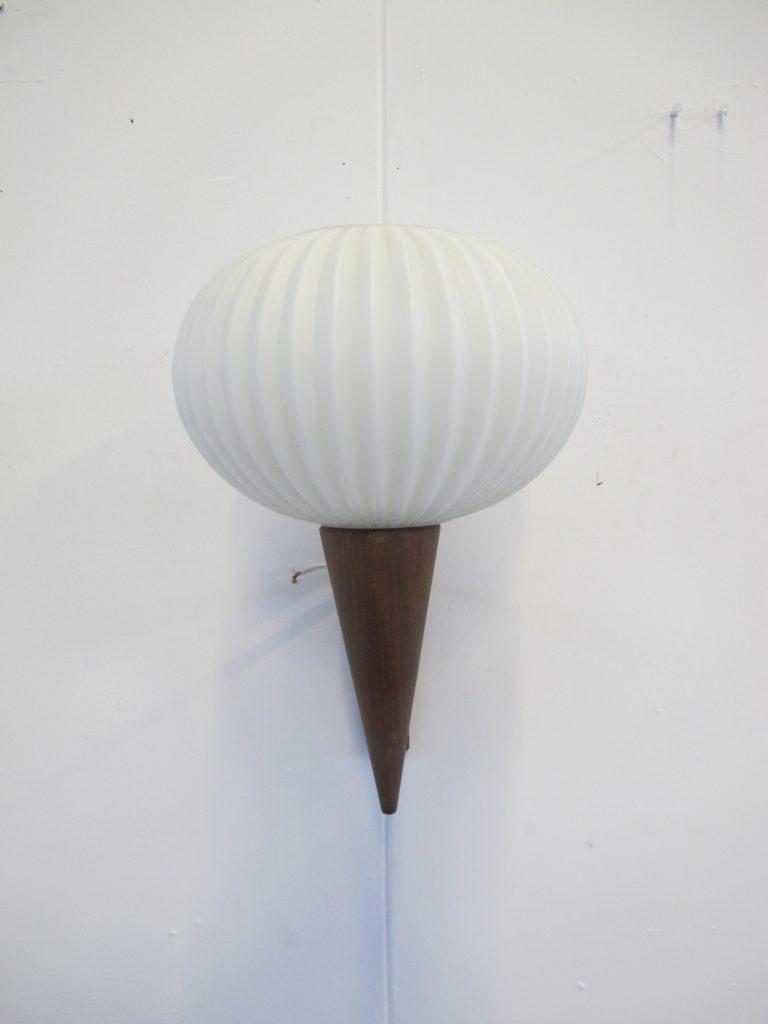 Schitterende lamp Philips Louis Kalff wandlamp uit de jaren 50 ...