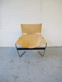 Loungefauteuil F444 Pierre Paulin Artifort midsentury vintage fauteuil