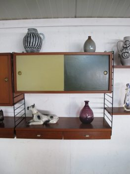 wall system Nisse Strinning string design AB Danmark midcentury vintage