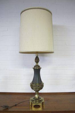 Lamp messing Hollywood Regency style tafellamp vintage midsuntury