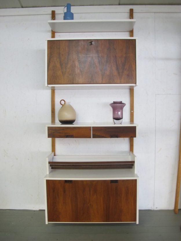 Kast Wand systeem Pastoe wandmeubel furniture vintage midsuntury