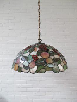 Lamp Tiffany hanglamp vintage midsuntury