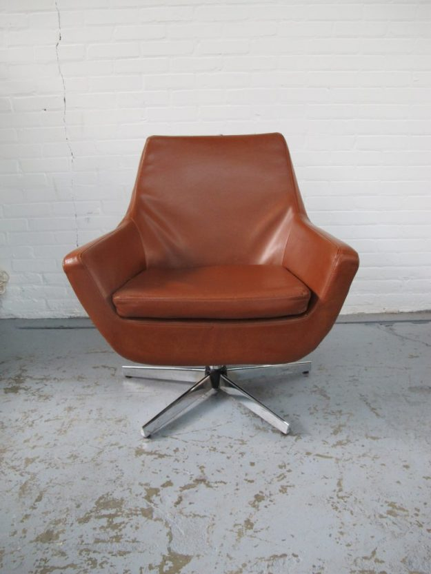 lounge fauteuil Artifort vintage midsentury