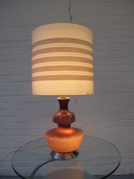 lamp Kastrup Holmegaard glazen tafellamp vintage midsentury