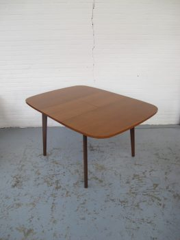Tafel Louis van Teeffelen pastoe teakhout vintage midcenturymodern