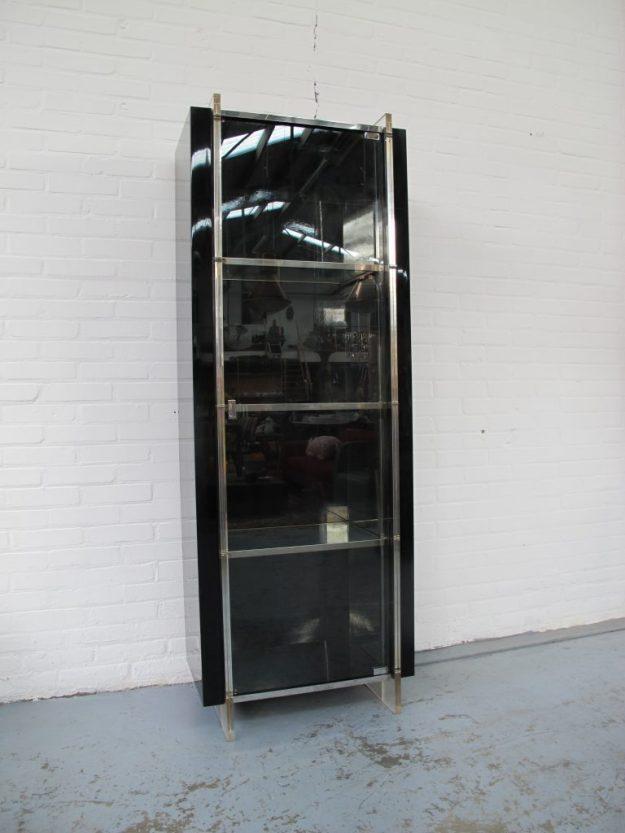 kast Rossetto Armobil Italie hoogglans vitrinekast vintage midcenturymodern