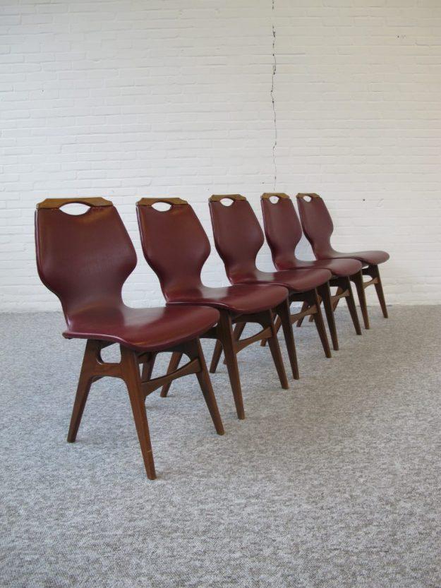 stoelen Louis van Teeffelen Topform vintage midcenturymodern midcentury