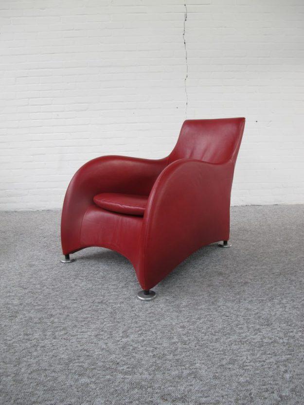 Loge fauteuil Gerard van den Berg Montis midcenturymodern midcentury vintage