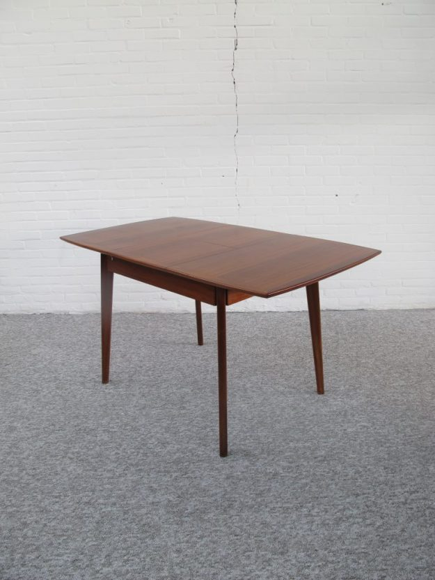 Teakhouten tafel Louis van Teeffelen Webe midcenturymodern midcentury vintage