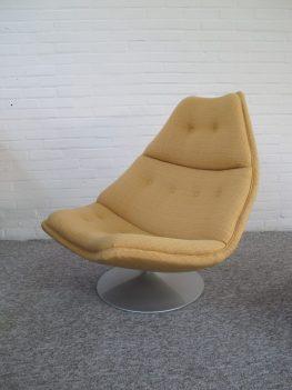 Lounge fauteuil F511 Geoffrey Harcourt Artifort midcentury vintage