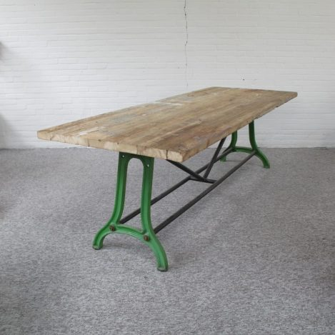 tafel Industriële tafels vintage midcenturymodern midcentury