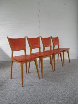 stoel chair Cees Braakman Pastoe teakhout vintage midcentury