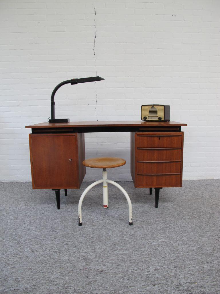 Bureau Cees Braakman Pastoe teakhout vintage midcentury