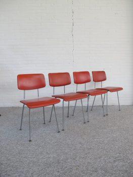 Gispen stoelen chairs A.R. Cordemeijer vintage midcentury