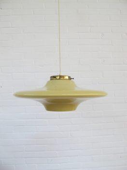 Space age UFO lamp Uno & Östen Kristiansson hanglamp vintage midcentury