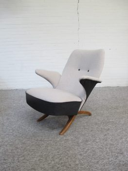 Pinguin lounge fauteuil Theo Ruth Artifort vintage midcenturymodern midcentury