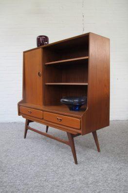 Kast highboard Louis van Teeffelen Wébé vintage midcenturymodern midcentury