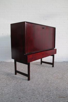 Fristho palissander dressoir bar kast vintage midcentury