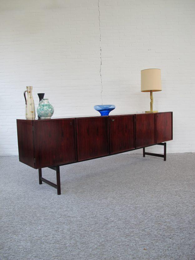 Fristho palissander dressoir vintage midcentury