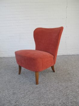 Theo Ruth voor Artifort Club Cocktail fauteuil vintage midcentury