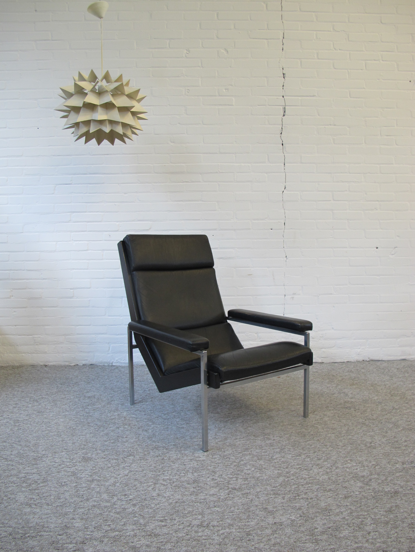 Rob Parry Gelderland lotus fauteuil Vintage midcentury