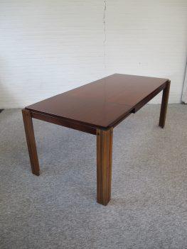 Pastoe Cees Braakman stijl tafel palissanderhout