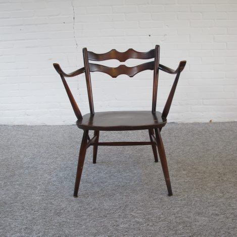 Fauteuil Lucian Randolph Ercolani voor Ercol Engeland vintage midcentury