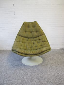 Lounge fauteuil F588 Geoffrey Harcourt Artifort vintage midcentury