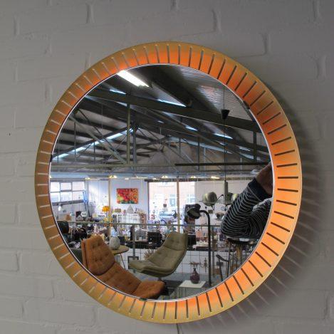 Spiegel Stilnovo XL Illuminated mirror midcentury vintage