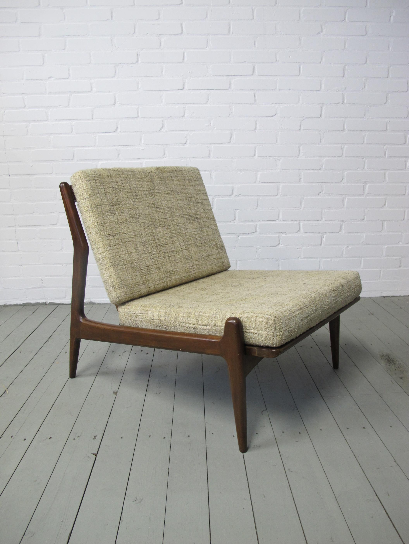 Deense lounge fauteuil de Ster Gelderland midcentury vintage