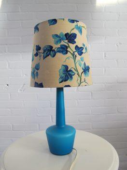 lamp Kastrup Holmegaard flesvaas tafellamp vintage midcentury