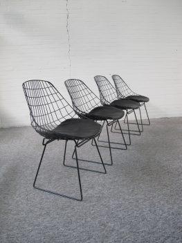SM05 draad stoelen wire chairs Cees Braakman Pastoe midcentury vintage
