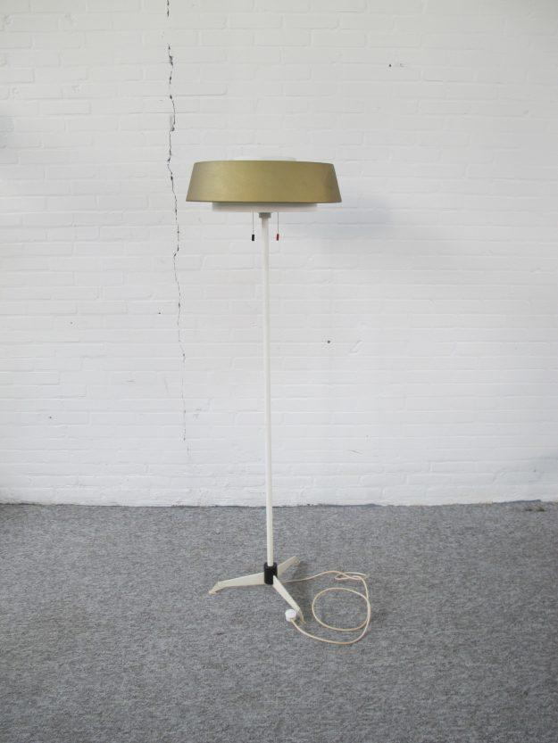 Niek Hiemstra vloerlamp model ST 7128' Hiemstra Evolux midcentury vintage
