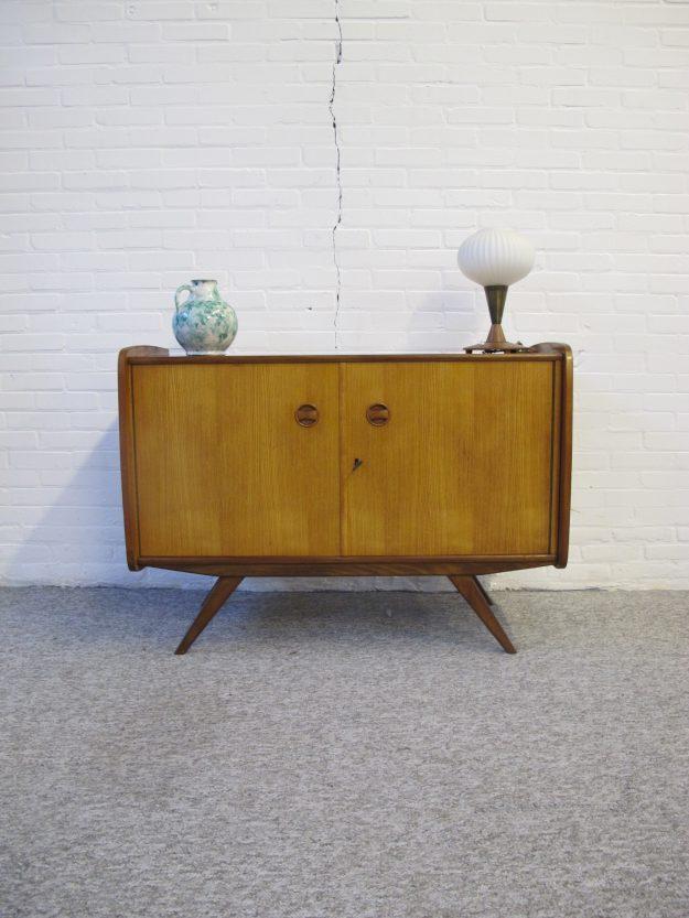 Dressoir kastje Louis van Teeffelen Wébé vintage midcentury