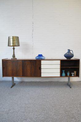 Rosewood Sideboard Palissander Dressoir Topform Fristho vintage midcentury