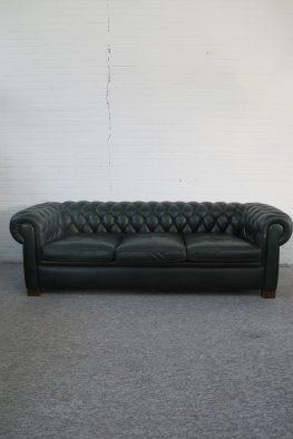Engelse Chesterfield bank sofa vintage midcentury