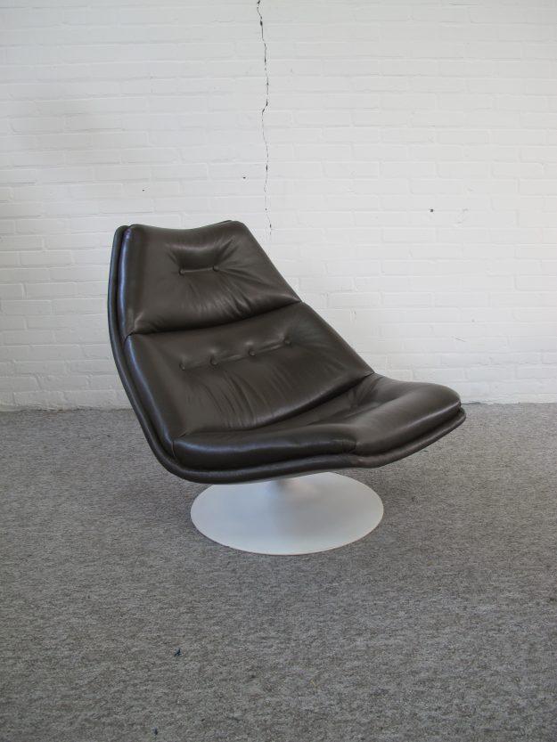 Fauteuil lounge chair F511 Geoffrey Harcourt Artifort vintage midcentury
