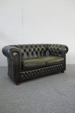 Bank sofa Originele Engelse Chesterfield vintage midcentury