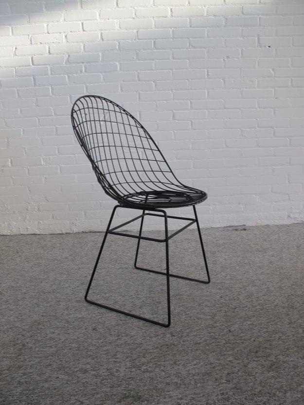 stoel wire chair Cees Braakman A.Dekker UMS Pastoe vintage midcentury