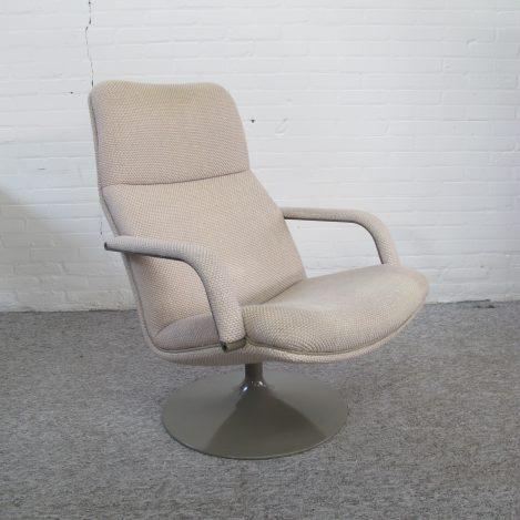Fauteuil lounge chair Artifort F156 Geoffrey Harcourt vintage midcentury