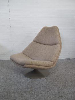 Fauteuil loung chair Artifort F510 Geoffrey Harcourt Artifort vintage midcentury