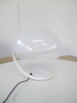 lamp Serpente tafellamp Elio Martinelli Luce Martinelli vintage midcentury