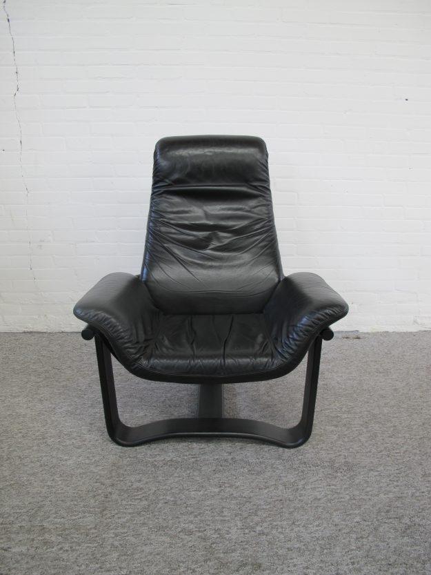 Fauteuil Ingmar Relling Manta lounge chair Westnofa vintage midcentury