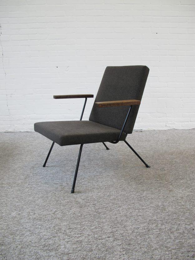 Lounge fauteuil 1409 André Cordemeijer Gispen vintage midcentury