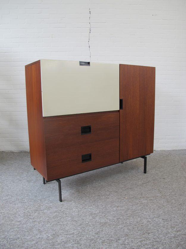 Highboard CU06 Cees Braakman Pastoe Japanse serie vintage midcentury