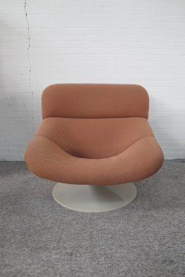 Lounge fauteuil F518 Geoffrey Harcourt voor Artifort vintage midcentury