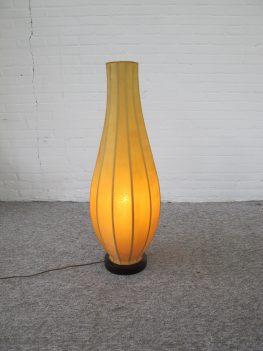 lamp vloerlamp Italian Cocoon floorlamp vintage midcentury