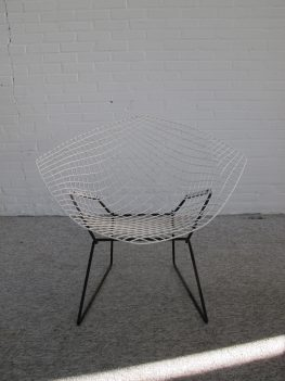 fauteuil Diamond Chair Harry Bertoia Knoll International vintage midcentury