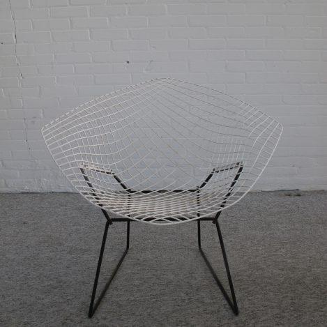 fauteuil Diamond Chair Harry Bertoia Knoll International vintage midcentury