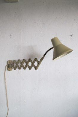Lamp Hala schaarlamp wandlamp vintage midcentury